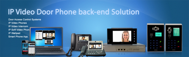 & IP Video Door Phone Backend Product Solution | AddPac